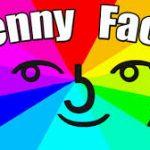 Mặt Lenny Face ( ͡° ͜ʖ ͡°) và biểu tượng cảm xúc Kawaii Faces